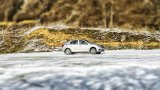 DACIA Logan ESP on snow