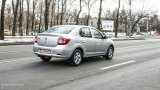 DACIA Logan TCe city driving
