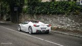 FERRARI 458 Spider driving with top down