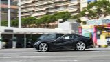 FERRARI F12 Berlinetta driving in city