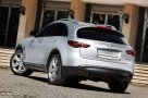 Infiniti FX50S three quarters rear view