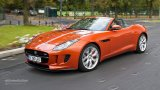 Jaguar F-Type V6 S city driving