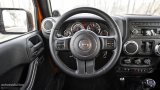 Jeep Wrangler Facelift steering wheel