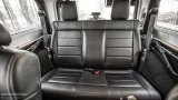 Jeep Wrangler Facelift rear seats
