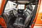 Jeep Wrangler Facelift front seats