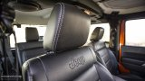 Jeep Wrangler Facelift leather interior