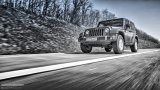Jeep Wrangler Facelift highway driving