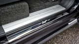 KAHN Range Rover Harris Tweed Edition door entry sills