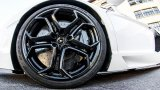 Lamborghini Aventador front wheel in black