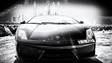 LAMBORGHINI Gallardo LP550-2 Spyder black and white