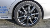 LEXUS GS 450h F Sport rear wheel