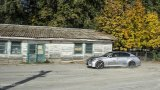 LEXUS GS 450h driving on gravel