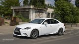 LEXUS IS 300h F Sport driving