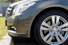 Mercedes Benz E 350 CDI Coupe front ground clearance