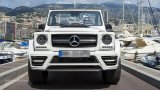 MERCEDES BENZ G-Class Cabrio with Mansory front fascia