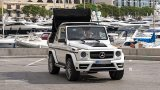 MERCEDES G-Class Cabriolet roof in action