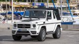 MERCEDES G500 Cabriolet soft top on