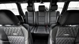 MERCEDES-BENZ G63 AMG rear seats
