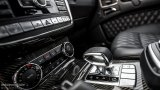 MERCEDES-BENZ G63 AMG gear shifter
