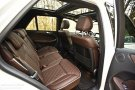 Mercedes-Benz ML350 rear seats