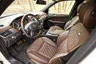 Mercedes-Benz ML350 front seats