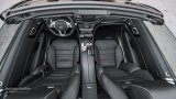 MERCEDES-BENZ SL63 AMG interior with roof folded
