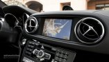 MERCEDES-BENZ SL63 AMG navigation display