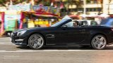 MERCEDES-BENZ SL63 AMG city driving
