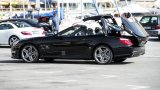 MERCEDES-BENZ SL63 AMG roof in action