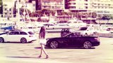 MERCEDES-BENZ SL63 AMG and girl