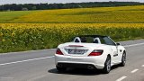 2011 Mercedes SLK 350 open road