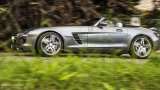 Mercedes-Benz SLS AMG Roadster in nature