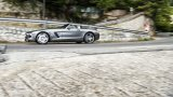 Mercedes-Benz SLS AMG Roadster open road driving