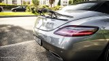 Mercedes-Benz SLS AMG Roadster rear wing