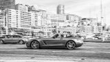 Mercedes-Benz SLS AMG Roadster in city