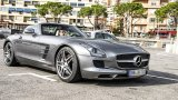 Mercedes-Benz SLS AMG Roadster in detail