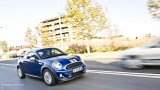 MINI Cooper S Coupe in the city