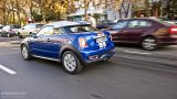 MINI Cooper S Coupe city driving