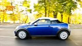 MINI Cooper S Coupe high speed driving