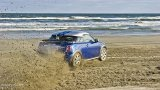 MINI Cooper S Coupe on the beach