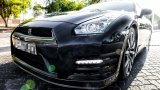 NISSAN GT-R facelift LED daytime running lights