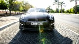 NISSAN GT-R in the sun