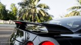 NISSAN GT-R rear wing