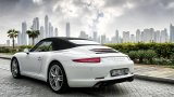 PORSCHE 911 Carrera S Cabriolet with canvas roof on