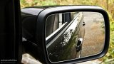 Range Rover rear view mirror