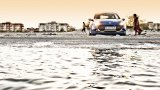RENAULT Clio RS Gordini on the beach