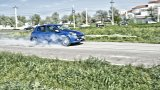 RENAULT Clio RS Gordini burnout