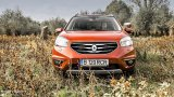 RENAULT Koleos Facelift front fascia in nature