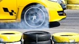 Renault Megane RS 250 Cup burnout