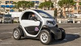 RENAULT Twizy in urban environment
